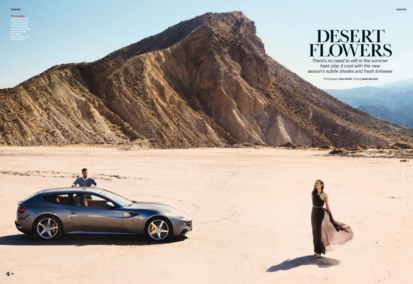 Ferrari Magazine_Condé Nast, Photo: Dan Smith, CD: Helen Niland