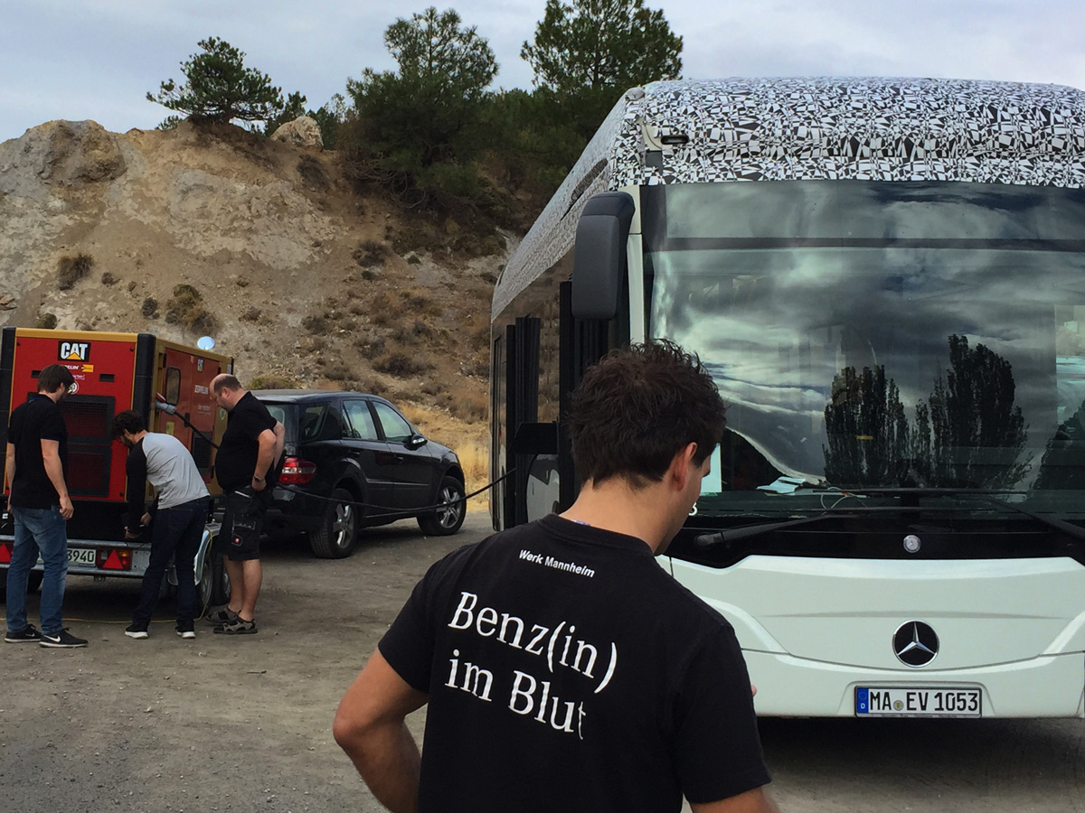 Making Of: Daimler Benz EvoBus E-Citaro, Agency: fischerAppelt