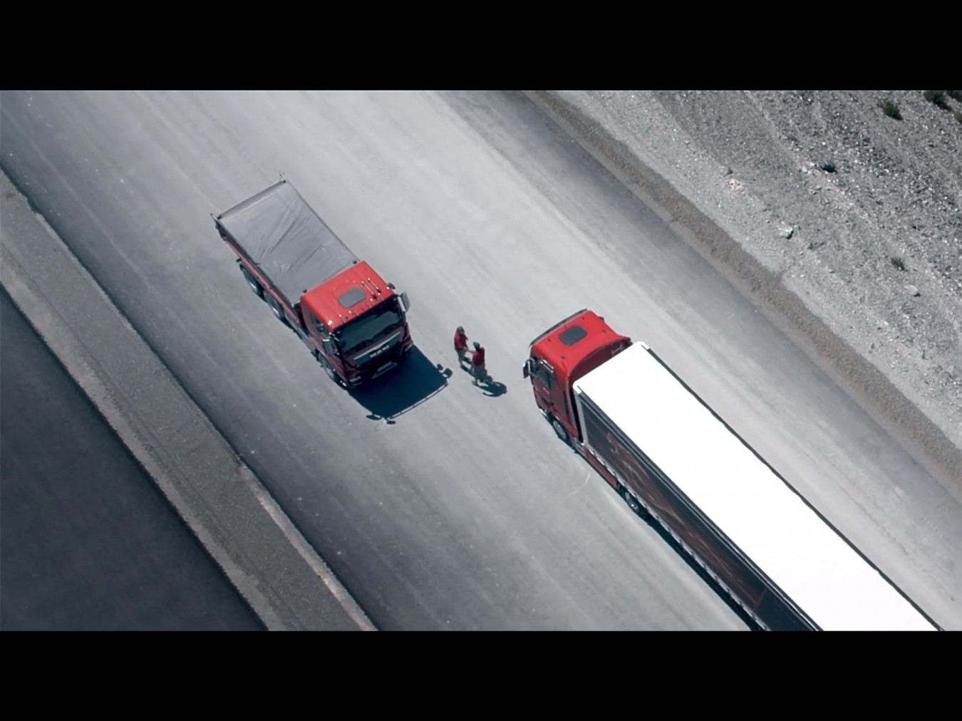 MAN trucks TGX D38, Agency: Eder, Director: Roland Leyer, DOP: Philipp Serba ___ Silver Award: Questar New York/USA,  Gold Award: WorldMedia Festival