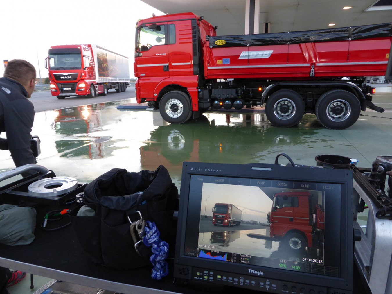 Making Of: MAN trucks TGX D38