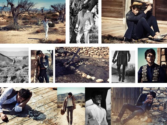 L´Officiel Hommes, Photo: Dan Smith, Model: Andrés Velencoso