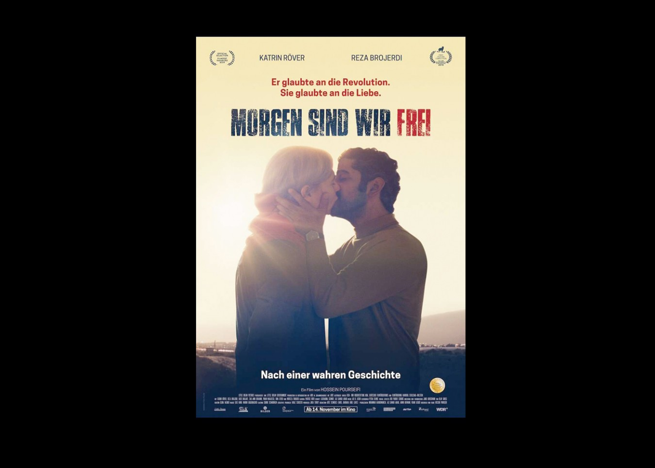 MORGEN SIND WIR FREI_arte/WDR/Little Dream Entertainment_Director: Hossein Pourseifi_Filmstart Germany: 14.11.19_ Premiere Filmfest Hamburg: 02.10.2019